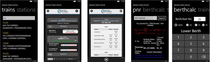 Train Status for Windows Phone